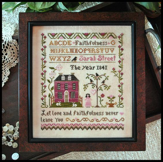 Reprint LITTLE hOUSE nEEDLEWORKS  \u2022 Counted Cross Stitch Pattern oNLY COFFEE TIME