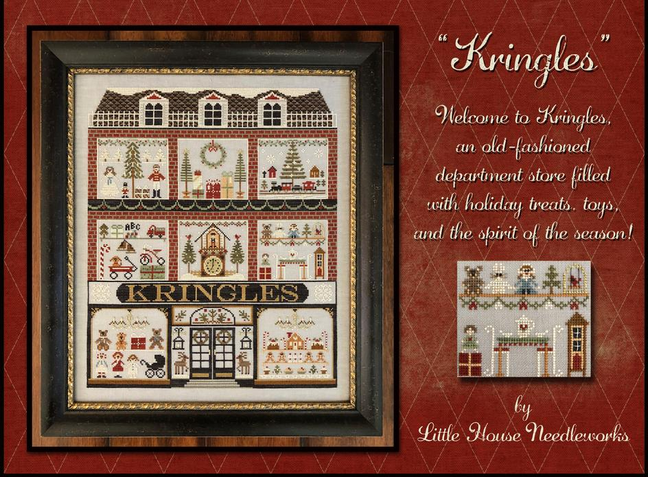 or complete set. Little House Needleworks-2011  Holiday Ornaments #1-12